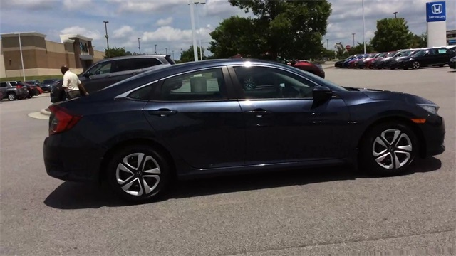 Pre-Owned 2016 Honda Civic LX - Honda CERTIFIED