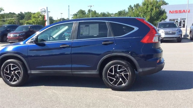 Certified Pre-Owned 2016 Honda CR-V SE