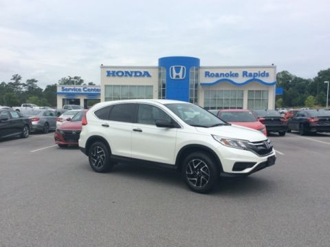 Certified Pre-Owned 2016 Honda CR-V SE - CERTIFIED
